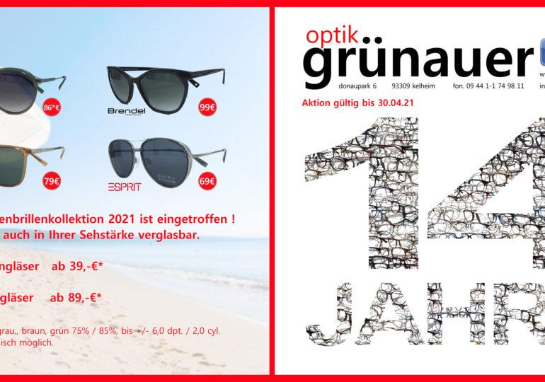 14 Jahre Optik Grünauer